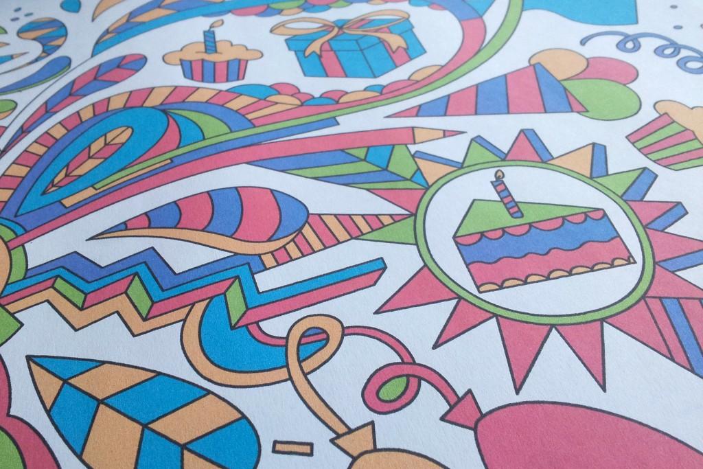 Kindervakantieweek Huizen handgetekend patroon huisstijl
