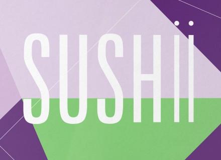 Sushi restaurant huisstijl ontwerp logo Sushii 2